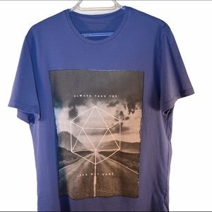 Soft Graphic Tee Always Take the Long Way Home
